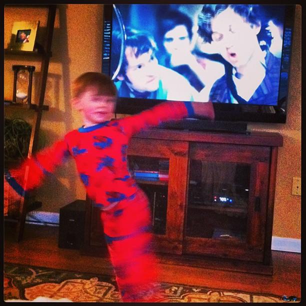 Max + Les Mis = Dance!