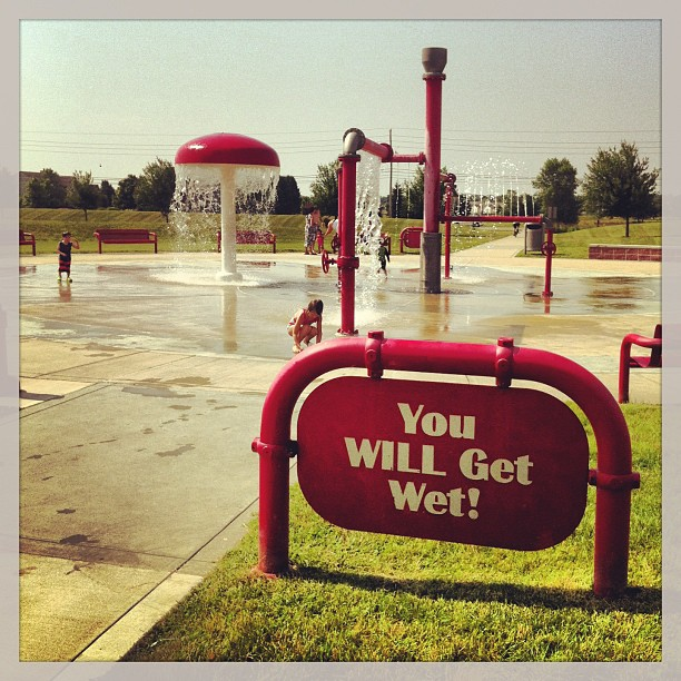You WILL Get Wet!