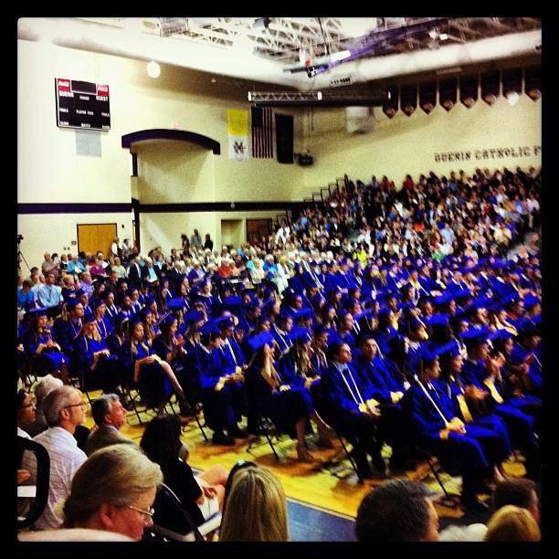 Congrats Guerin Class of 2013!