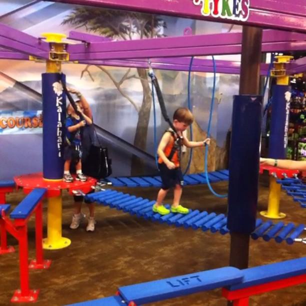 Kiddie Rope Course