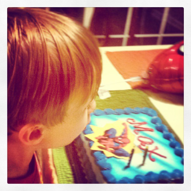Max's 'pooped in the potty' birthday cake. (#2)