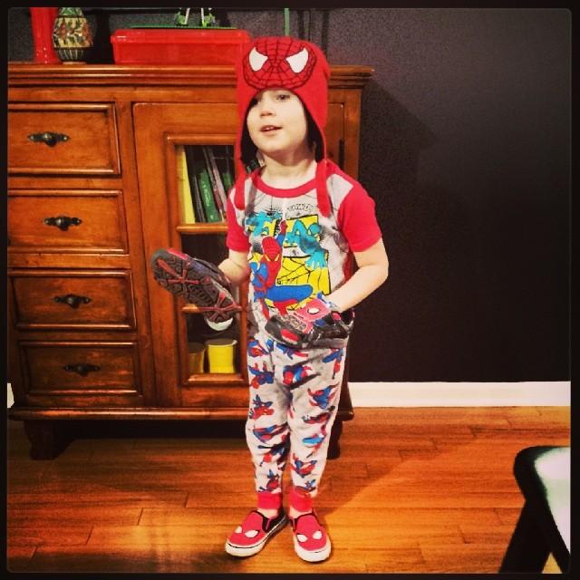 OD'd on Spiderman