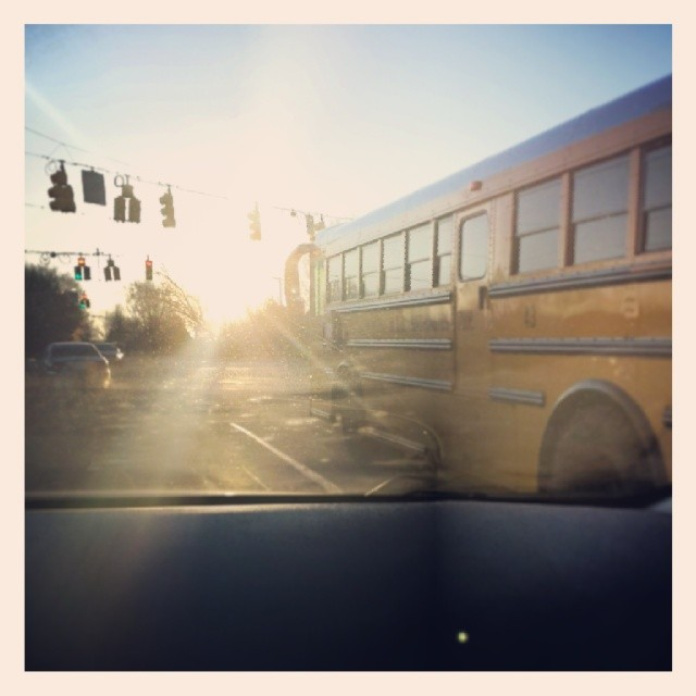 Good morning, school bus.