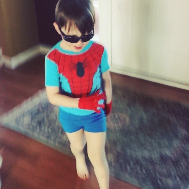Spiderman? I guess so..