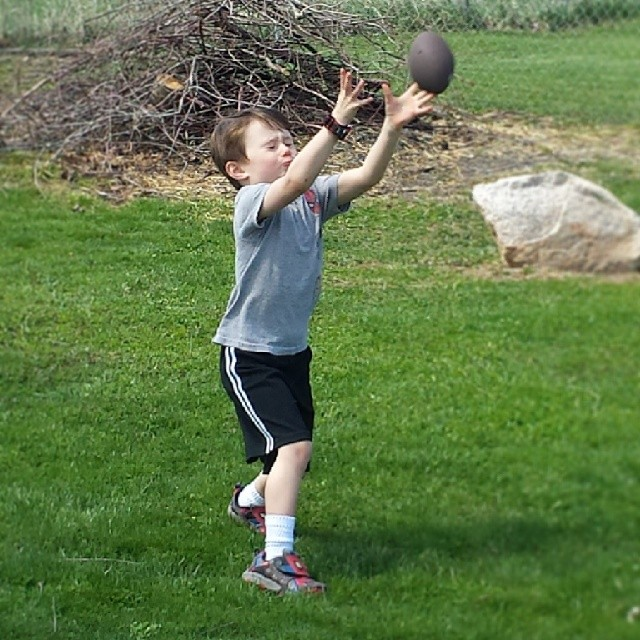 Keep your eye on the ball.