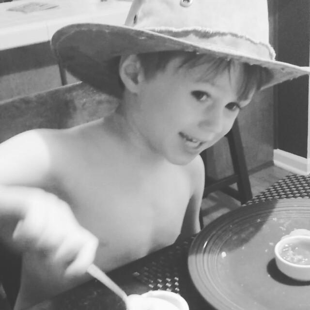 A Cowboy and His Yogurt