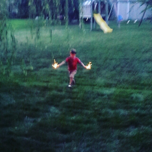 Fire sticks! (sparklers)