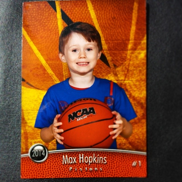 Max's First Trading  Card