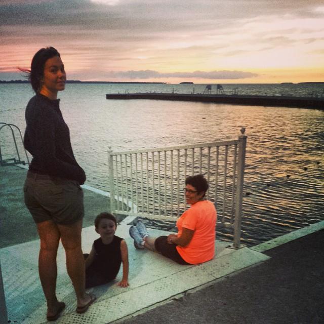 Sunset @ Lakeside