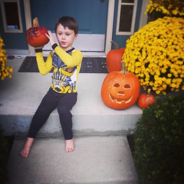 Max loves Halloween