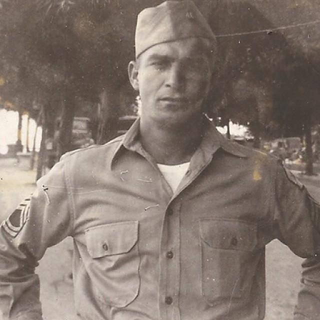 Gratitude and prayers for my Granddad Hopkins. Veteran, WWII.