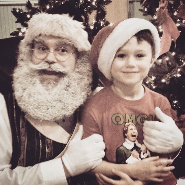 Max + Santa