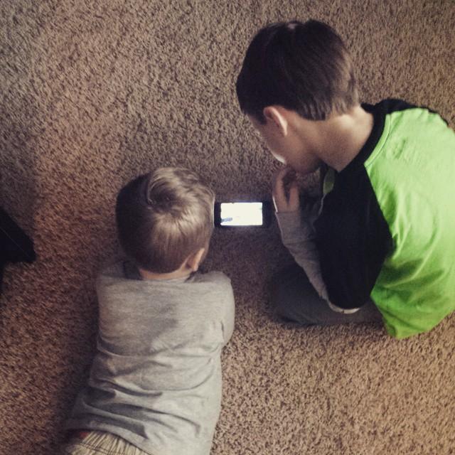 Apparently, kids just watch Minecraft videos.