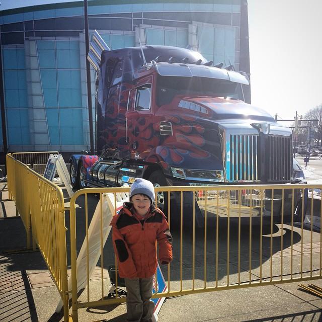 Max & Optimus Prime!