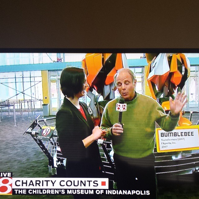 @charity_counts on TV this am
