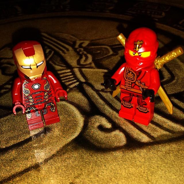 Iron Man & Ninjago: Ready for battle