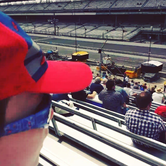 Max's 1st trip to IMS