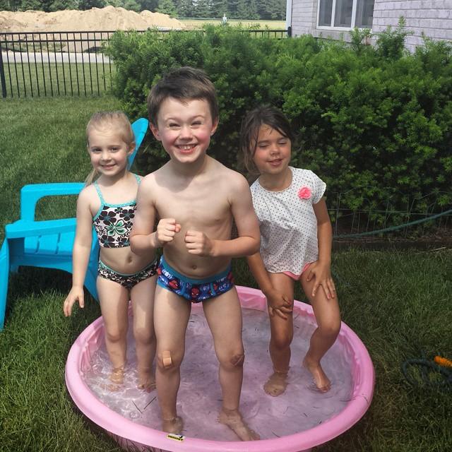 Happy Birthday Sophia! #poolparty