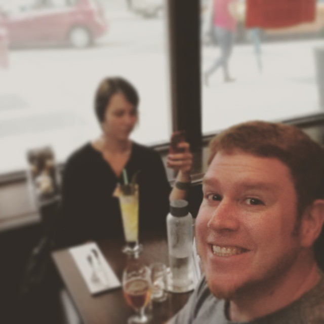 Took this mystery woman out to dinner in Chicago...