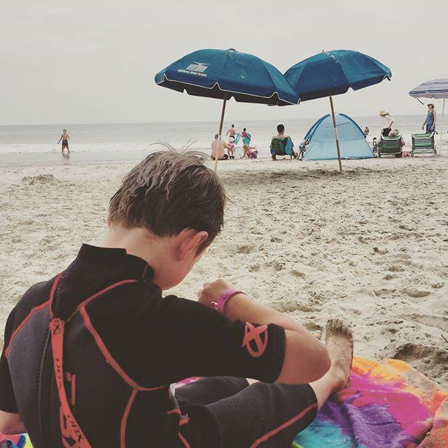 Beach break for Sno-cone