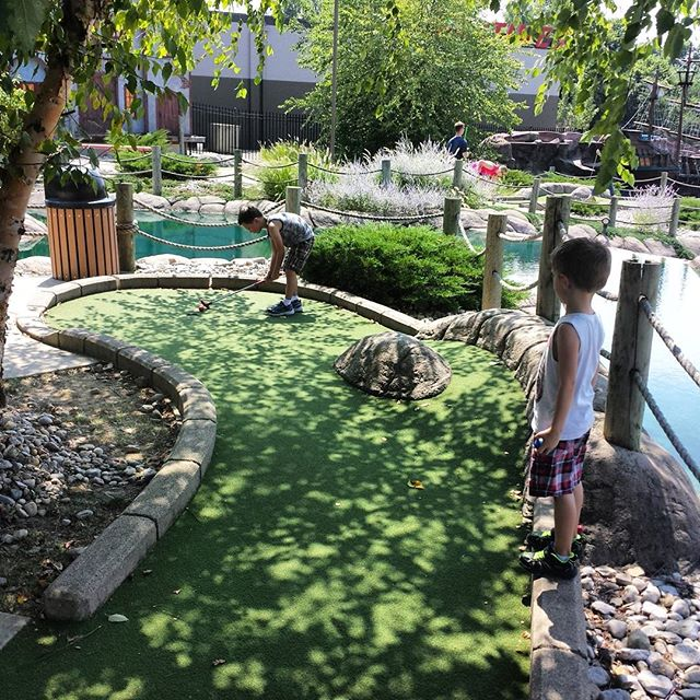Putt Putt with Lincoln!