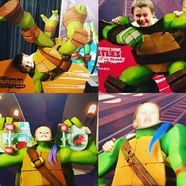Max as the Turtles