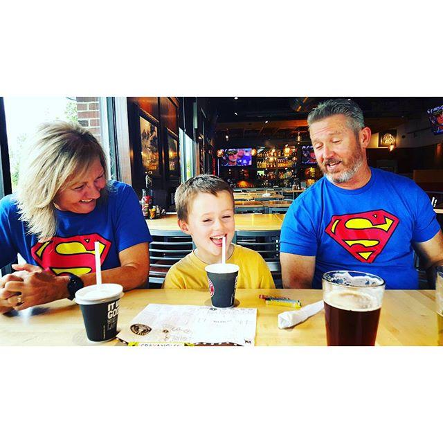Fun with Super Grandparents.