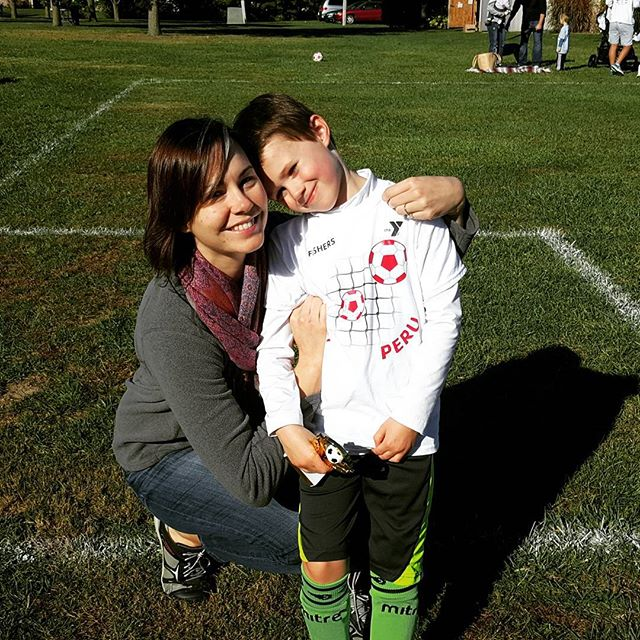 Great 1st soccer season for Max!