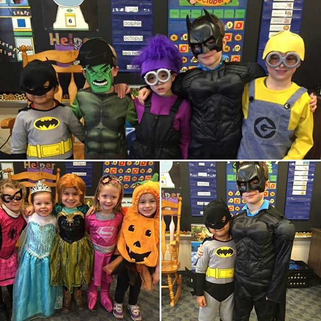 Happy Halloween Party from the JK class @ SLDM
