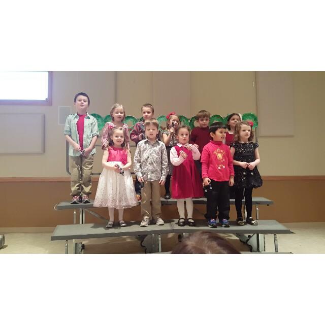 SLDM JK did a great job at 2015 Christmas program.