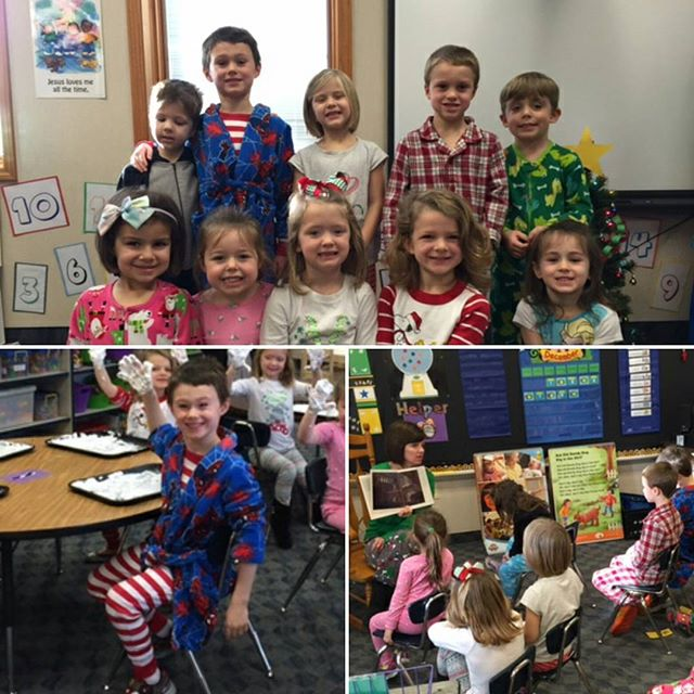 Fun in Jammies for Polar Express Day @ SLDM today.