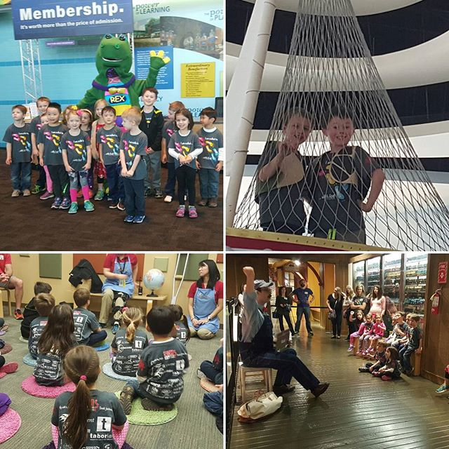 Great trip to the @childrensmuseum for the SLDM JK class!