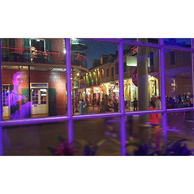 Ghost on Bourbon Street