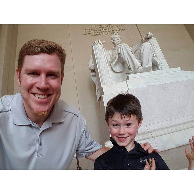 With Max's 2nd favorite Lincoln...