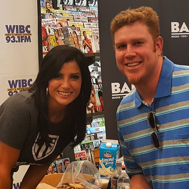 Thanks so much to @dloesch and @thechrisloesch for coming to Indy and representing the real rebellion. #punkrock