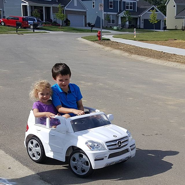 Max & Claire, out for a ride