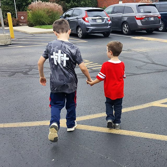 Two Five-year-olds...