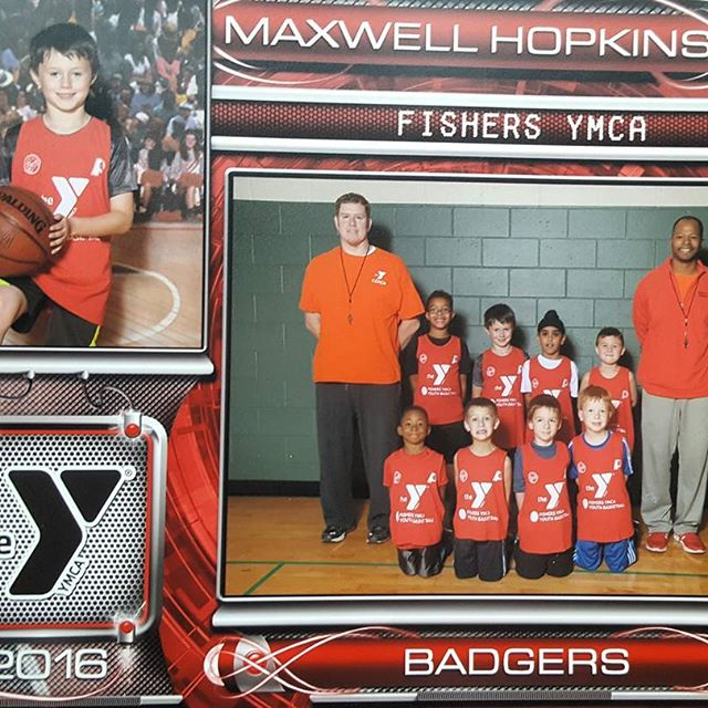 2016 YMCA 6-7 year old Badgers