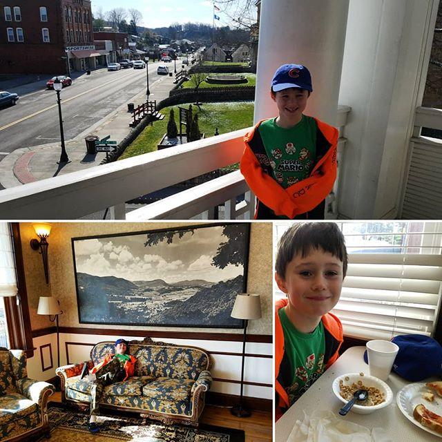 Max enjoying the Inn at Wise
