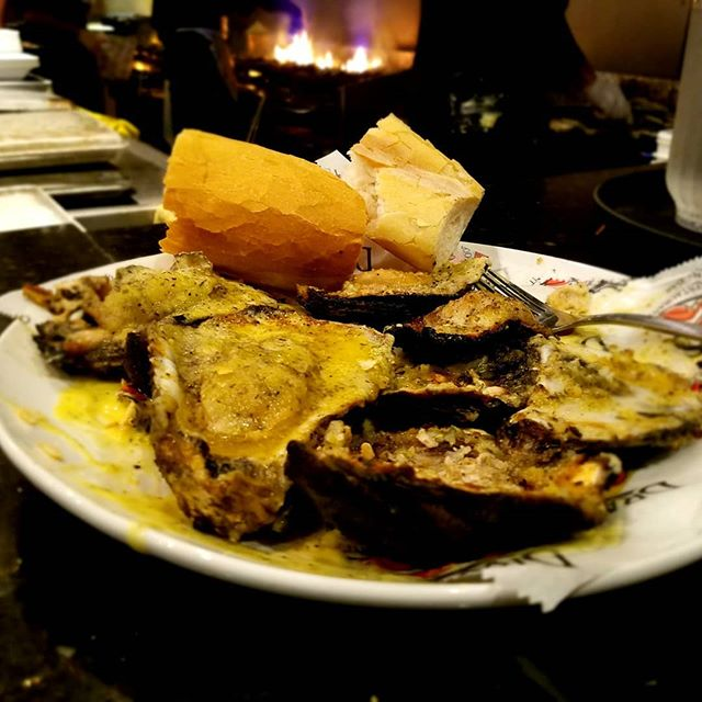 Charbroiled Oysters here are O-mazing...