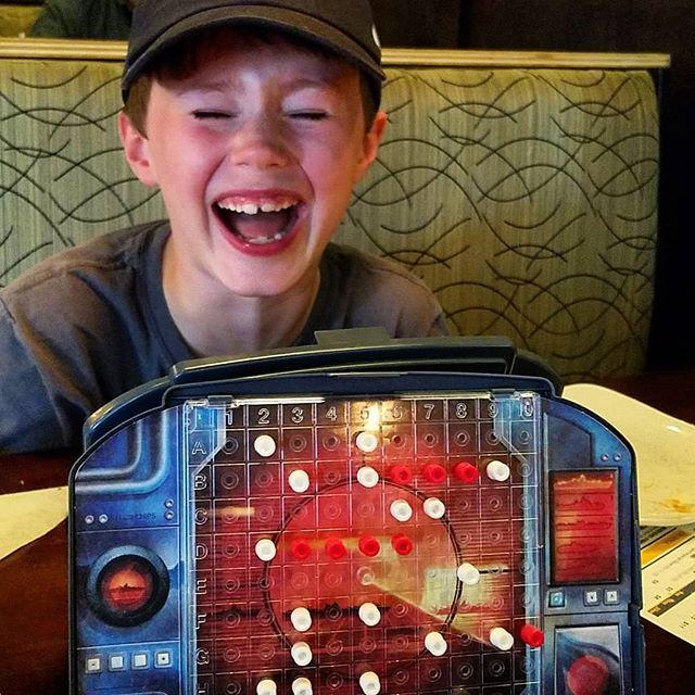 Having way too much fun playing Battleship...