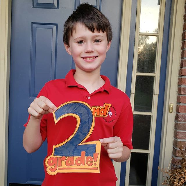 1st Day of 2nd Grade! Here's to another great year at SLDM!