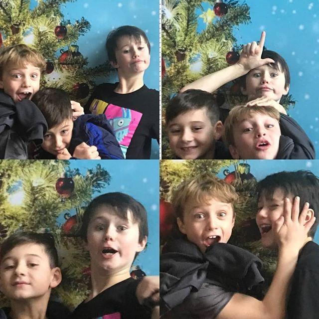 So.... three boys walk into a movie theater...