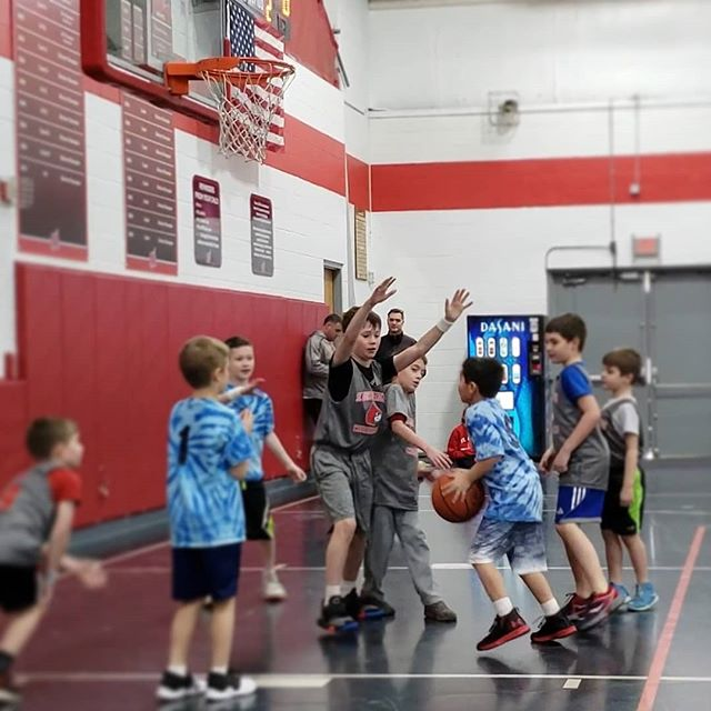One of the many reasons this SLDM 1/2 Grade Team went undefeated this year was defense. We worked on it hard in practice, and these boys never let up. Very proud of these kids. GO CARDS!