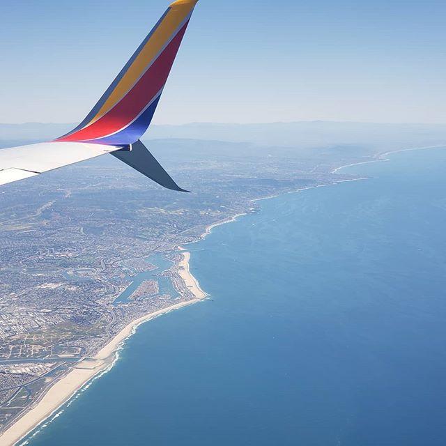 Goodbye California. You sure are pretty...