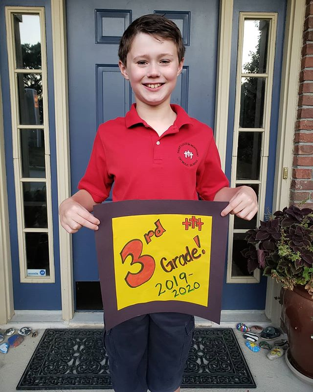1st Day of 3rd Grade! Here's to another great year at SLDM!
